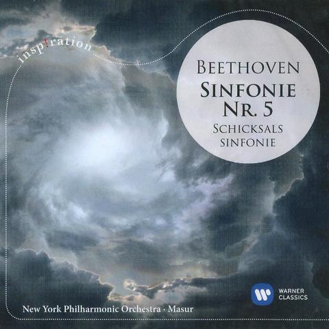 New York Philharmonic Orchestra, Kurt Masur / Beethoven: Symphony No. 5 (CD)