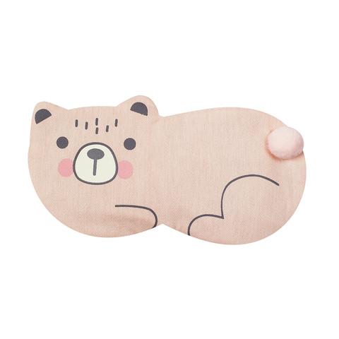 Маска для сна Lying Bear Pink