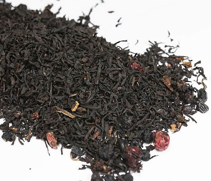 TEA-AR111 Черный ароматизированный чай «Русский чай» (50 гр) фото 02