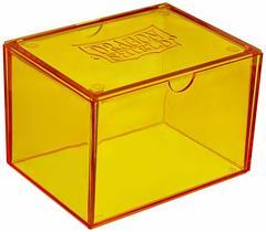 Dragon Shield - Коробочка жёлтая на 100+ карт