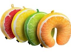 Подушка-подголовник «Лимон» 6