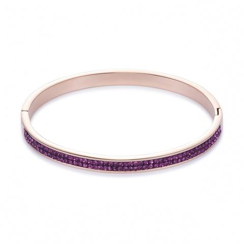 Браслет Coeur de Lion 0214/33-0824 цвет фиолетовый