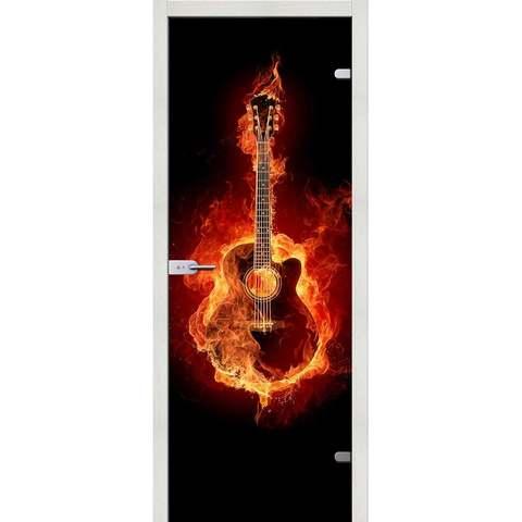 Guitar триплекс фотопечать