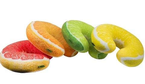 Подушка-подголовник «Лимон» 7