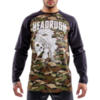 Лонгслив Headrush Camo Native Skully