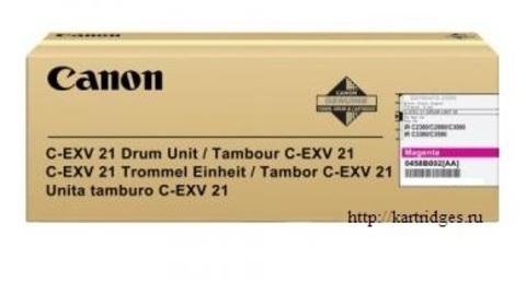 Картридж Canon C-EXV21 M / 0458B002BA
