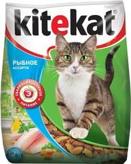 Kitekat Улов рыбака корм для взрослых кошек с рыбой