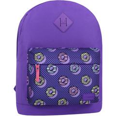 Рюкзак Bagland Молодежный W/R 17 л. 339 Фиолетовый 745 (00533662)