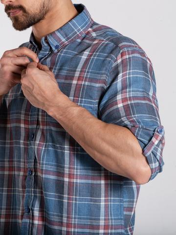 Рубашка д/р муж.  M022-01A-05CR KENT