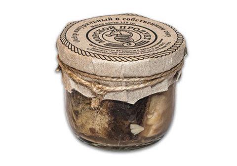 Осётр натуральный в собственном соку, 115г