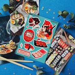 Набор стикеров MINI PACK JAPAN