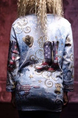 Женский пуловер Liberty Boots Cactus Bay. Made in USA