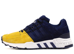 Кроссовки Мужские ADIDAS Equipment Running Support 93 Yellow Navy Suede White