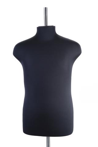 Манекен портновский мужской 56 размер ОСТ (черный)