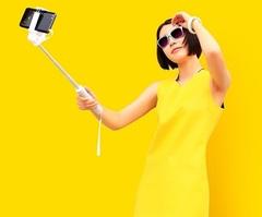 Монопод для смартфонов Xiaomi Cable (с проводом черный)