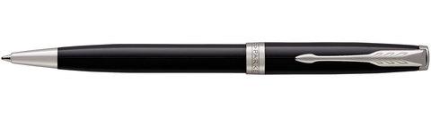 Шариковая ручка Parker Sonnet Lacquer Deep Black CT
