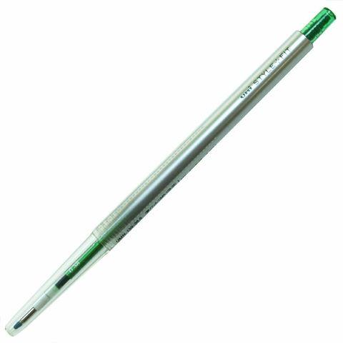 Гелевая ручка 0,38 мм Uni Style Fit - Green - зелёные чернила