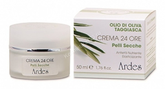Ardes Крем  анти-возрастной питательный укрепляющий 24 часа для сухой кожи (Crema 24 Ore Pelli Secche), 50 мл