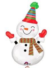 А Фигура Снеговик Улыбка, 45
