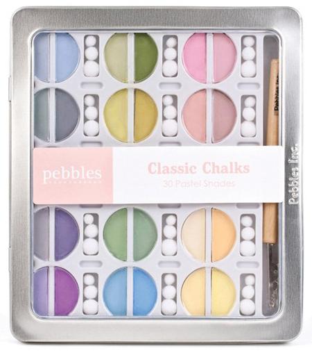Меловые краски Classic Chalks от Pebbles