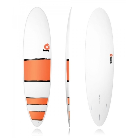 Серфборд TORQ Epoxy 7'6 Funboard Red Bands