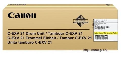 Картридж Canon C-EXV21 Y / 0459B002BA 000