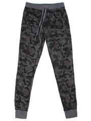 BAC003887 брюки детские, серый меланж