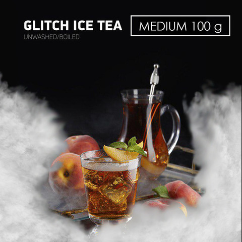 Табак Dark Side MEDIUM GLITCH ICE TEA 100 г