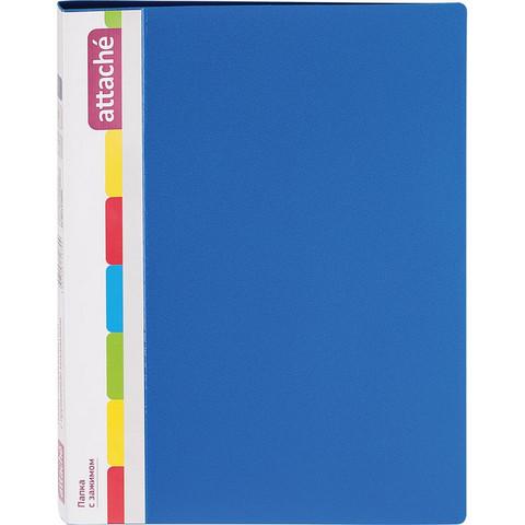 Папка с зажимом ATTACHE F611/07 17мм синяя Россия