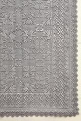Элитный коврик Vintage 2 светло-серый от Luxberry
