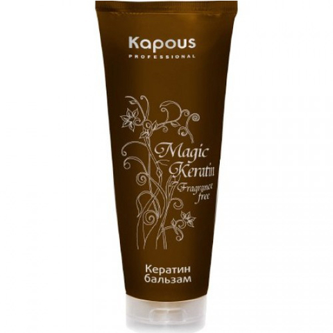 Кератин бальзам,Kapous Magic Keratin,250 мл.