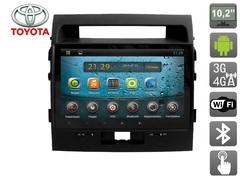Штатное головное устройство для Toyota Land Cruiser 200 (Сборка Объединенные Арабские Эмираты) AVIS Electronics AVS101AN (#006) на Android