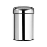 Ведро для мусора TOUCH BIN (3л), артикул 363962, производитель - Brabantia