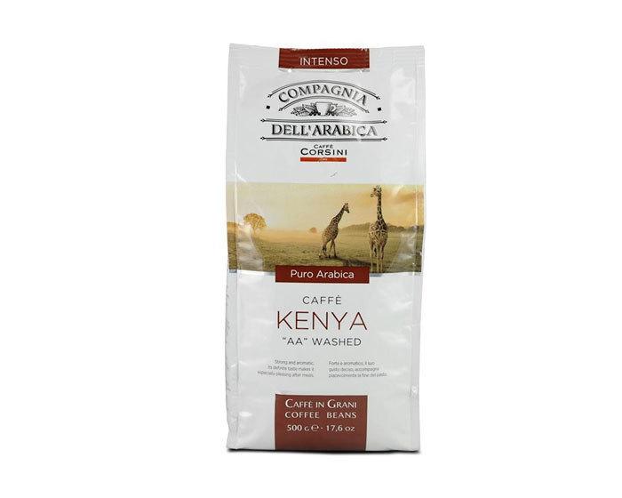 Кофе в зернах Compagnia Dell`Arabica Kenya, 500 г (Компания Дель Арабика)