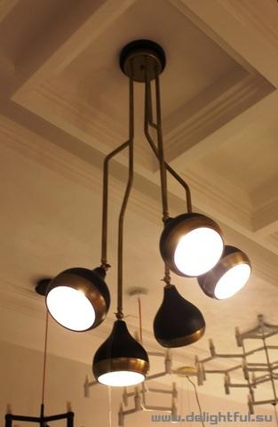replica HANNA chandelier  by Delightfull ( black )