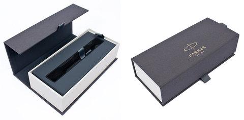 Шариковая ручка Parker Sonnet Lacquer Deep Black CT123