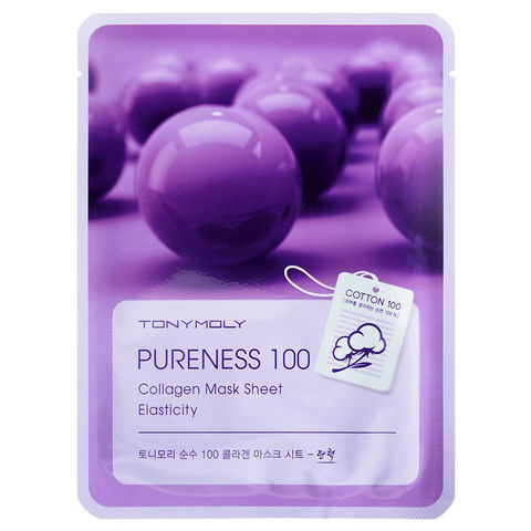 Pureness 100 Collagen Mask Sheet Elasticity