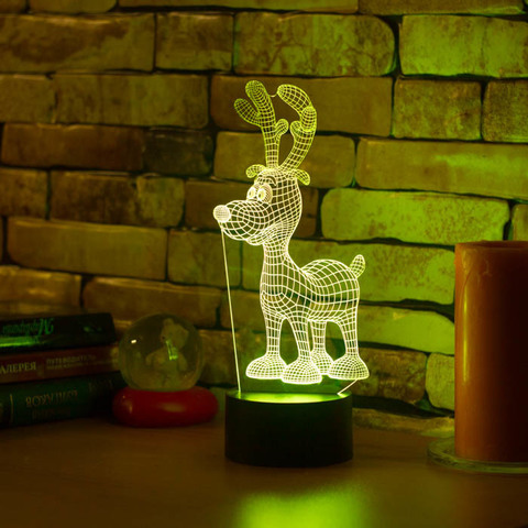 Лампа Олененок