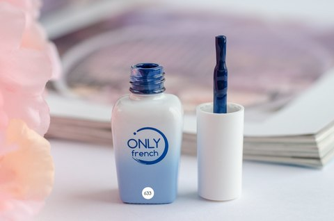 Гель-лак Only French, Blue Touch №633, 7ml
