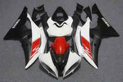 Комплект пластика для мотоцикла Yamaha YZF-R6 08-15 Бело-Красно-Черный