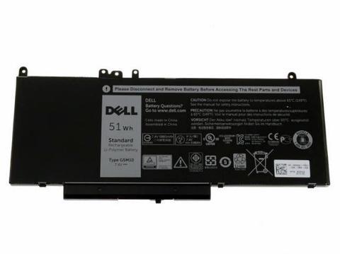 Аккумулятор для Dell E5450, E5470, E5550, E5570, (G5M10), 51wh, 7.4V, ORG