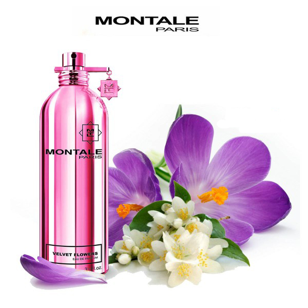 Montale - Velvet Flowers, отдушка парфюмерная 15 мл