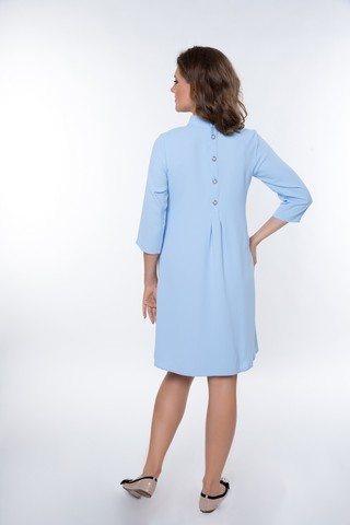 Платье 08965 голубой