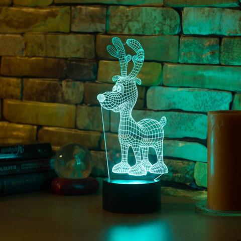 3D ночник Олененок
