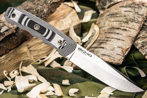 Туристический нож Echo AUS-8 StoneWash