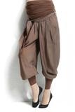 Брюки 02602 коричневый