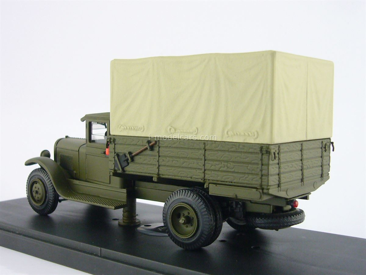 ZIS-5 with awning khaki 1:43 Miniclassic