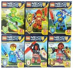 Минифигурки NEXO Knights — Рыцарь Нексо