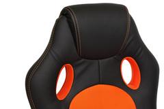 Кресло Рейсер нью (RACER) NEW — черный/оранжевый (36-6/07)