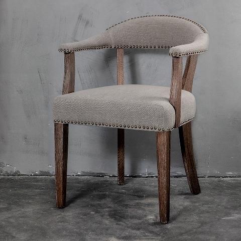 Кресло Roomers Катти светло-серое